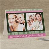 Photo Message To Her Personalized Greeting Card - 11354