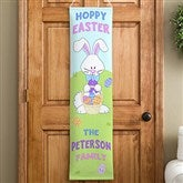 Hoppy Easter Personalized Door Banner - 11384