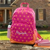 Sorbet Spots Embroidered Backpack - 11394
