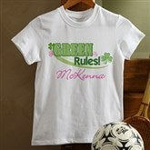 Green Rules!© Personalized Youth T-Shirt - 11425-YT