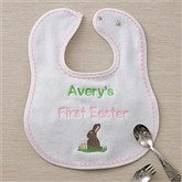 My First Easter Personalized Bib - Pink - 11429-G