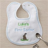 My First Easter Personalized Bib - Blue - 11429-B
