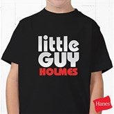 Little Guy Personalized Youth T-Shirt - 11442YCT