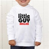 Little Guy Personalized Toddler Hooded Sweatshirt - 11442-CTHS