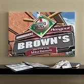 Arizona Diamondbacks MLB Personalized Pub Sign Canvas - 16x24 - 11483-M