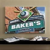Seattle Mariners MLB Personalized Pub Sign Canvas - 16x24 - 11487-M