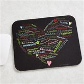 Her Heart Of Love Personalized Mouse Pad - 11489