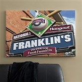 Washington Nationals MLB Personalized Pub Sign Canvas - 24x36 - 11491-L