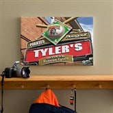 Pittsburgh Pirates MLB Personalized Pub Sign Canvas - 12x18 - 11495-S