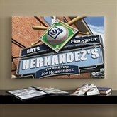 Tampa Bay Rays MLB Personalized Pub Sign Canvas - 16x24 - 11497-M