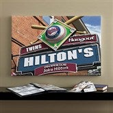 Minnesota Twins MLB Personalized Pub Sign Canvas - 16x24 - 11508-M