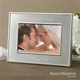 Reed & Barton Personalized Wedding Frame - 11518