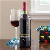 Personalized Graduation Wine Art-Design Streamers - 11520D-C