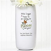 Bloom and Grow Personalized Vase - 11521