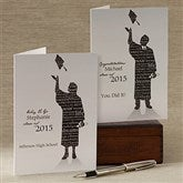 The Graduate Personalized Greeting Card - 11534