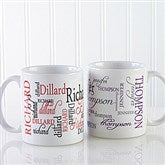 Signature Style Personalized Coffee Mug 11 oz.- White - 11539-S