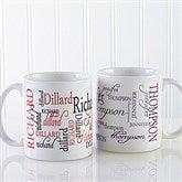 Signature Style Personalized Coffee Mug 11 oz.- White - 11539-S