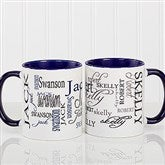 Signature Style Personalized Coffee Mug 11 oz.- Blue - 11539-BL