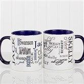 Signature Style Personalized Coffee Mug 11 oz.- Blue - 11539-BL