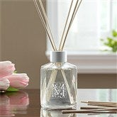Floral Monogram Personalized Aromatic Reed Diffuser - 11550