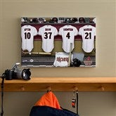 Arizona Diamondbacks MLB Personalized Locker Room Canvas- 12x18 - 11553-S