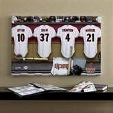 Arizona Diamondbacks MLB Personalized Locker Room Canvas- 16x24 - 11553-M