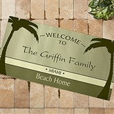 We're Retired! Personalized Oversized Doormat - 11558-O