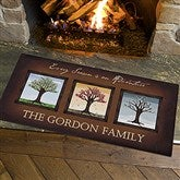 The Seasons Oversized Personalized Doormat- 24x48 - 11561-O
