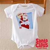 Santa Claus Is Coming To Town Baby Bodysuit - 11578-BB