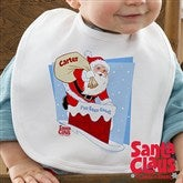 Santa Claus Is Coming To Town© Infant Bib - 11578B