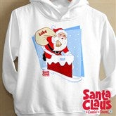 Santa Claus Is Coming To Town© Toddler Hooded Sweatshirt - 11578THS