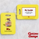 Curious George® Personalized Bag Tag Set - 11592