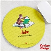 Curious George® Personalized Mouse Pad - 11593