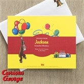 Curious George® Personalized Thank You Cards - 11596