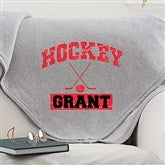 15 Sports Personalized Sweatshirt Blanket For Him - 11601