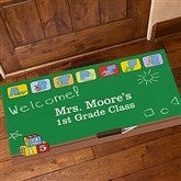 Teacher's Little Learners Personalized Oversized Doormat- 24x48 - 11608-O
