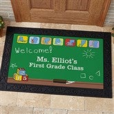 Teacher's Little Learners Personalized Doormat- 20x35 - 11608-M