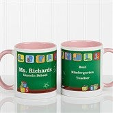 Teacher's Little Learners Personalized Coffee Mug 11oz.- Pink - 11639-P