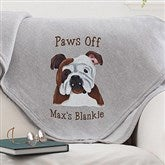 Top Dogs Personalized Sweatshirt Blanket - 11649