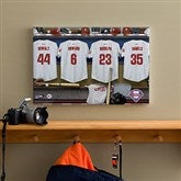 Philadelphia Phillies MLB Personalized Locker Room Canvas- 12x18 - 11661-S