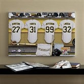 Pittsburgh Pirates MLB Personalized Locker Room Canvas- 16x24 - 11666-M