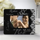 The Wedding Couple Personalized Mini Favor Frame - 11671
