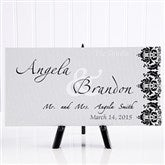 The Wedding Couple© Personalized Canvas Art - 11673
