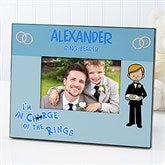 Our Ring Bearer Personalized Character Frame - 11678
