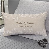 Precious Moments® Personalized Wedding Lumbar Throw Pillow - 11681-LB