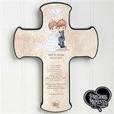 Precious Moments® Personalized Wedding Cross - 11682