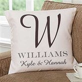 Our Monogram Personalized 18