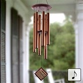 Mr. & Mrs. Personalized Wind Chime - 11687