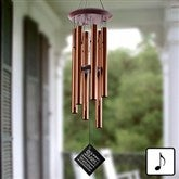 Mr. & Mrs. Personalized Wind Chimes - 11687