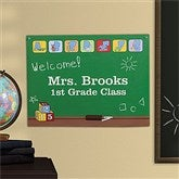 Teacher's Little Learners Personalized Poster - 18